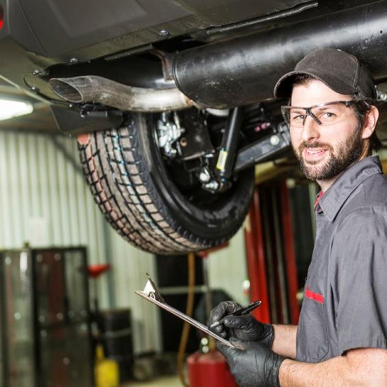 Car Muffler Repair and Replacement in Chicago at Milito's Auto Repair on W. Fullerton