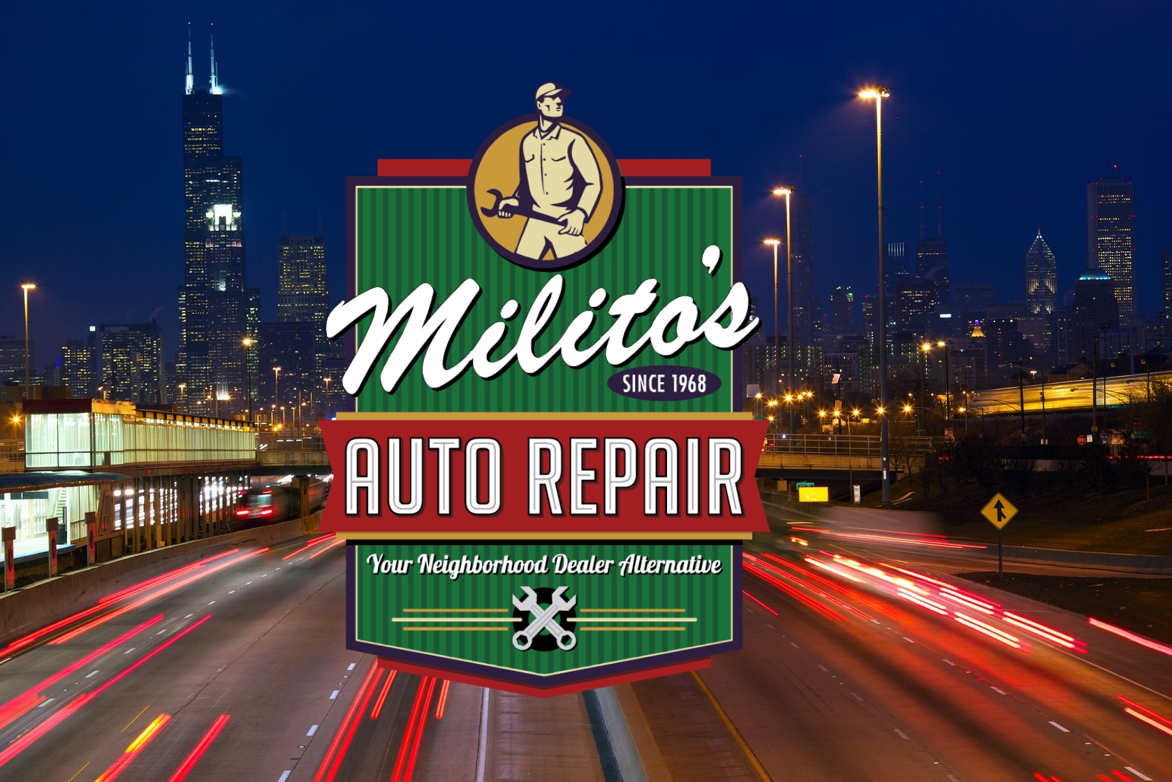 Militos Auto Repair, Gas and Car Wash on W Fullerton in Chicago - MIlitosAutoRepair.com