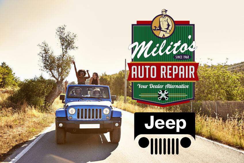 Auto Repair Chicago >> Jeep Repair Service Maintenance Milito S Auto Repair Chicago 60614