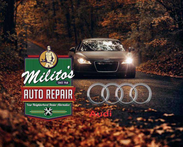 Auto Repair Chicago >> Audi Repair And Service Milito S Auto Repair
