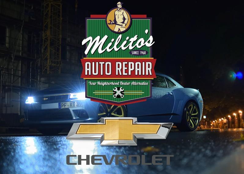 Chevrolet Repairs, Service and Maintenance in Chicago IL 60614 - MilitosAutoRepair.com