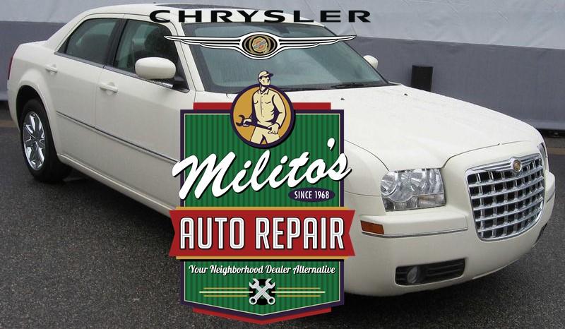 Chrysler Repair and Service Shop in Chicago, Your Local Dealer Alternative - Milito's' Auto Repair 60614