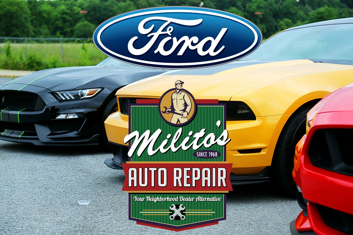 Ford Vehicles Repaired by Expert Mechanics Right in Lincoln Park Chicago at Milito's Auto Repair - MilitosAutoRepair.com