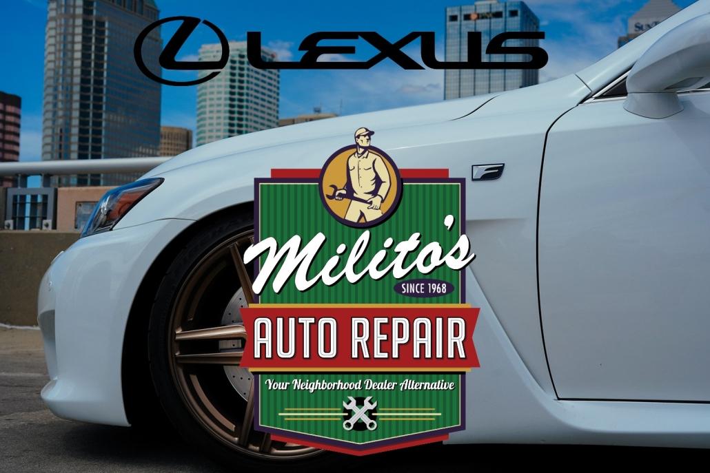 Lexus Repairs, Service and Maintenance in Chicago IL 60614 - MilitosAutoRepair.com