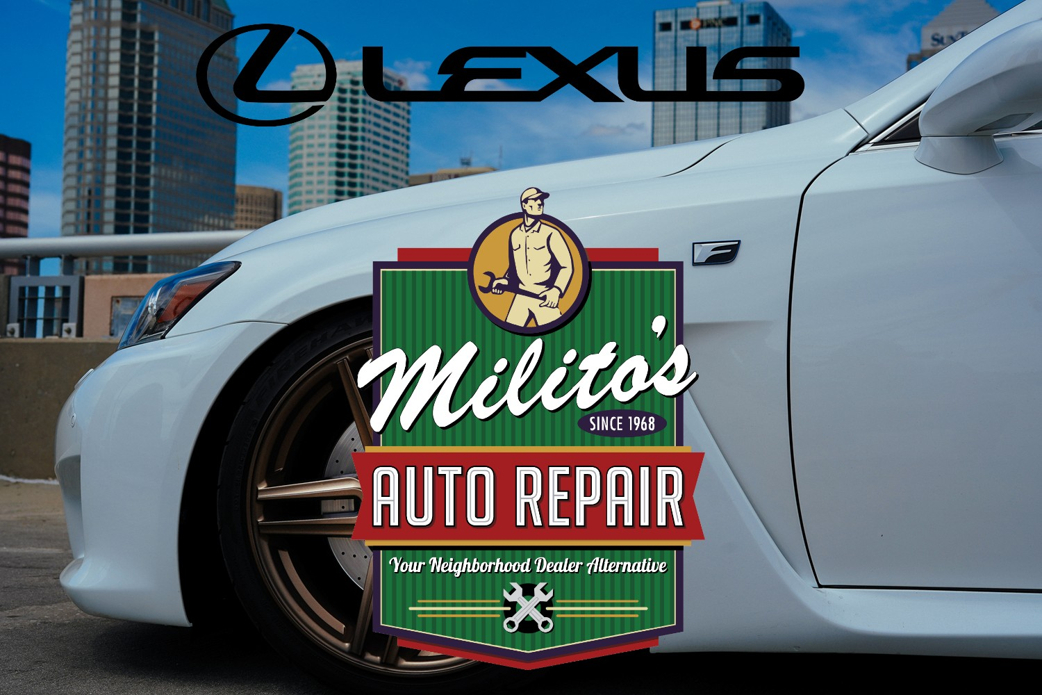 Lexus Repairs, Service and Maintenance in Chicago IL 60614 - MilitosAutoRepair.com