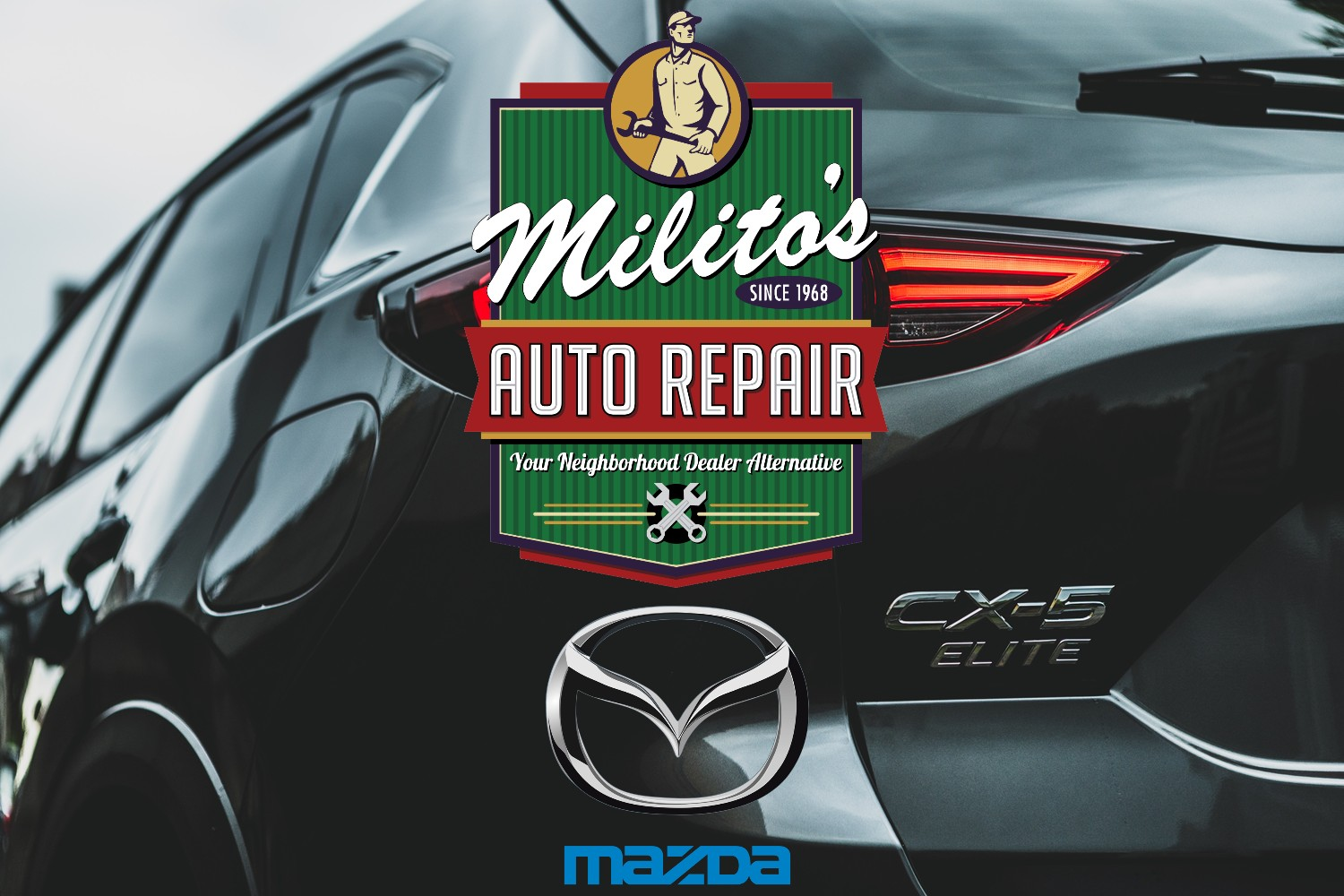 Mazda Vehicles Repaired by Expert Mechanics Right in Lincoln Park Chicago at Milito's Auto Repair - MilitosAutoRepair.com